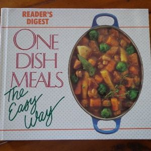 Reader's Digest ONE DISH MEALS Hardcover Book